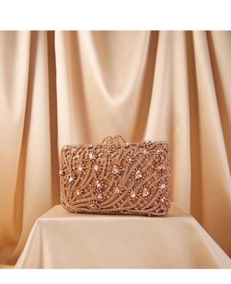 حقيبة يد نسائية فاخرة من حجر الراين ، أخضر/ذهبي وردي ، حقيبة يد مصممة ، حقيبة سهرة ، حقيبة كتف ، هدية