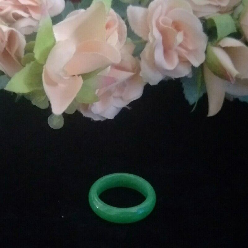Bague Jade bague en jadéite birmane naturelle bijoux Fine bijoux bague vert glace bague en Jade émeraude homme et femme