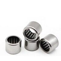 50pcs/100pcs high quality bearings HK1214 HK121814 12x18x14mm miniature drawn cup needle roller bearing 12mm * 18mm * 14mm