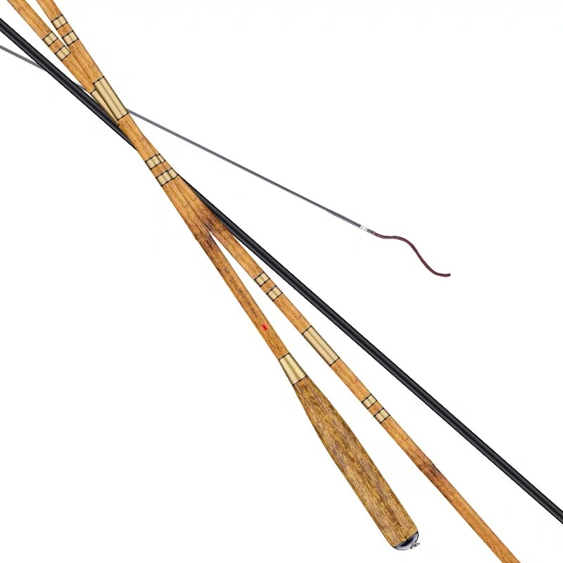 2.7M/3.0M/3.6M/3.9M/4.5M/5.4M Taiwan Fishing Rod Super Hard Carbon Fiber Hand Pole Carp Fishing Olta Spinning Pole Vara De Pesca enlarge