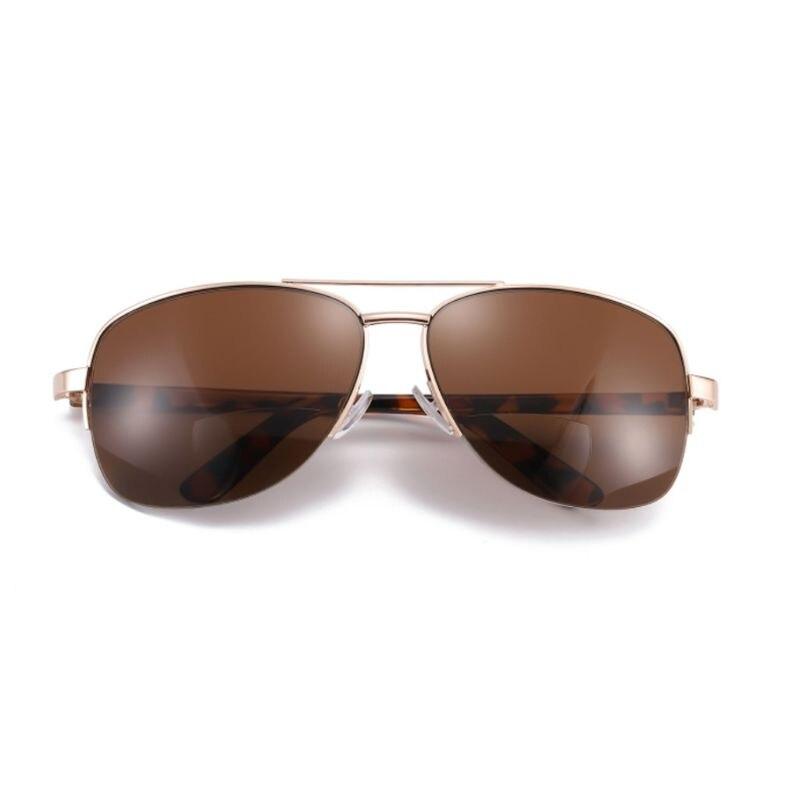 Men Women Bifocal Reading Glasses Sunglasses Sun Readers Half Frame Presbyopic +1.00/+1.50/+2.00/+2.50/+3.00/+3.50