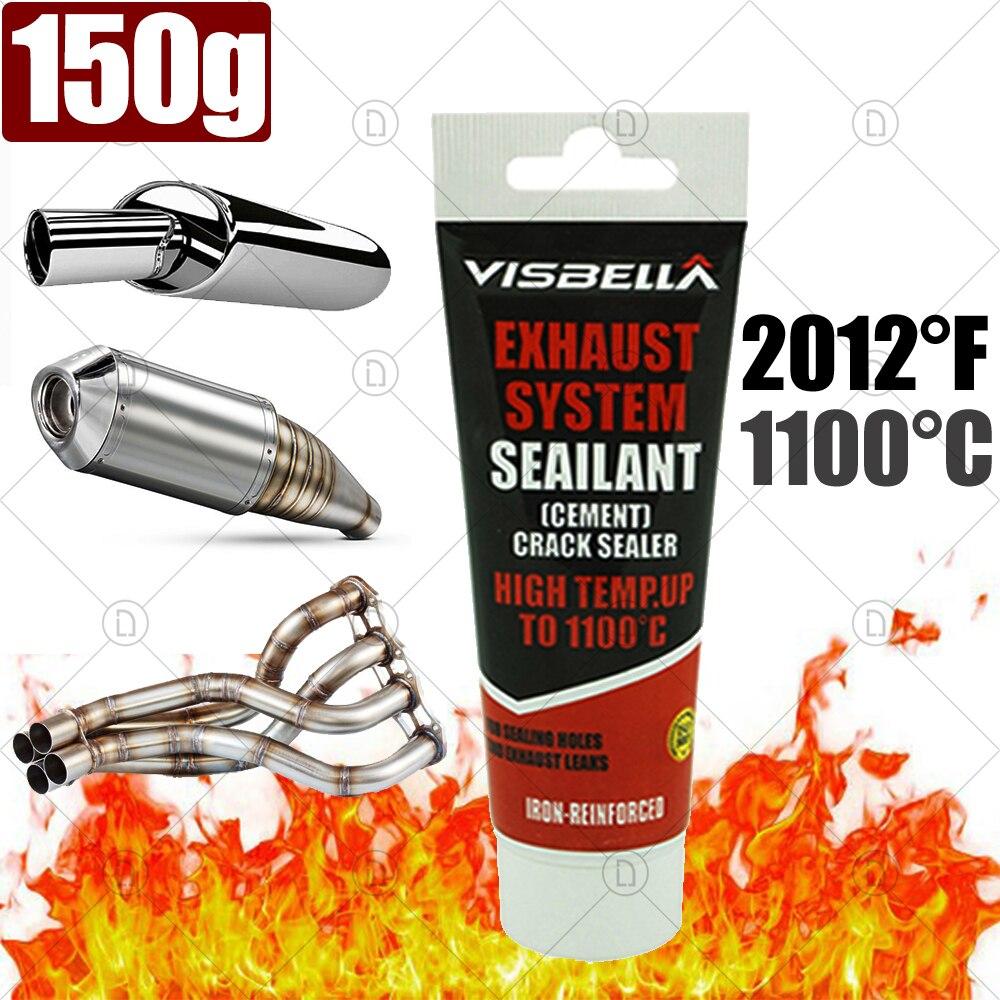 Высокотемпературный герметик, автомобильный глушитель выхлопной трубы, глушитель для ремонта мотоциклов, автомобильный клей, металлическ...