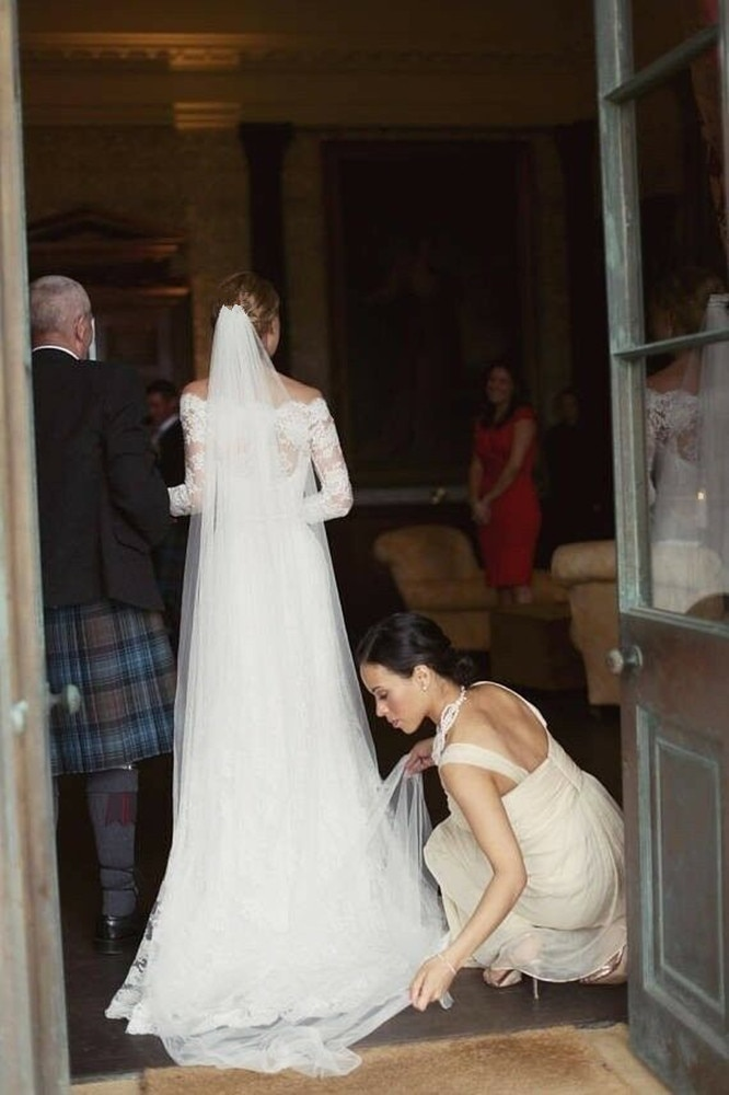 White ivory 2 layer Elegant Wedding Veil Bridal Veils Party veil Wedding Accessories With Comb Raw Bridal simple Veu De Noiva