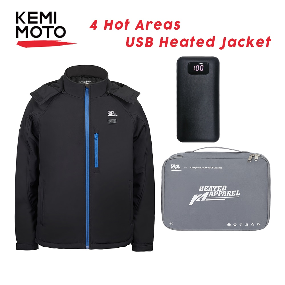 Men Woman Areas Heated Jacket USB Winter Outdoor Electric Heating Jackets Warm Sprots Thermal Coat Clothing Heat Fashion