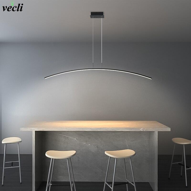 مصباح معلق LED بتصميم إسكندنافي بسيط ، تصميم إبداعي حديث ومبسط ، إضاءة داخلية زخرفية ، مثالي لغرفة الطعام أو المقهى أو البار ، AC 110V 220V