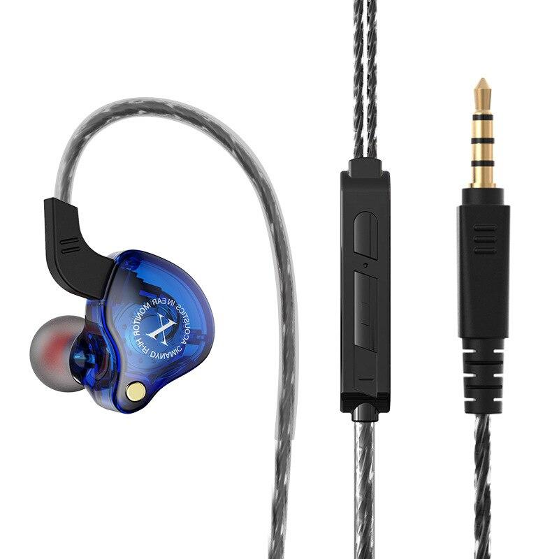 Com fio fones de ouvido 3.5mm estéreo esportes alta fidelidade universal subwoofer fone com microfone em fones de ouvido fone para a maioria do telefone