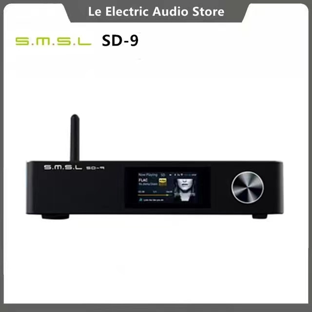 SMSL SD-9 MQA فك كامل HIFI شبكة مشغل موسيقى SD9 دعم DSD ، WAV APE ، FLAC AIFF ، مشغل MP3 سطح المكتب
