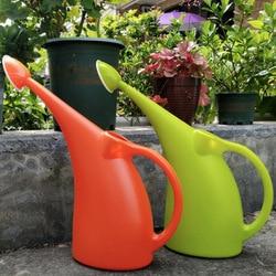 2l/3l rega pode grande capacidade longo bico jardim flores plantas rega pode sprinkler pote recipiente titular garrafa waterer