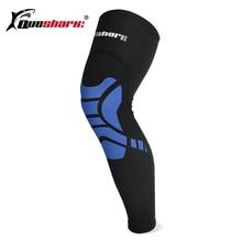 1Pc Men Women Compression Calf Leg Sleeve Cycling Legwarmers Sport Safety Running Legging Basketball Soccer Leg Warmers Knee Pad