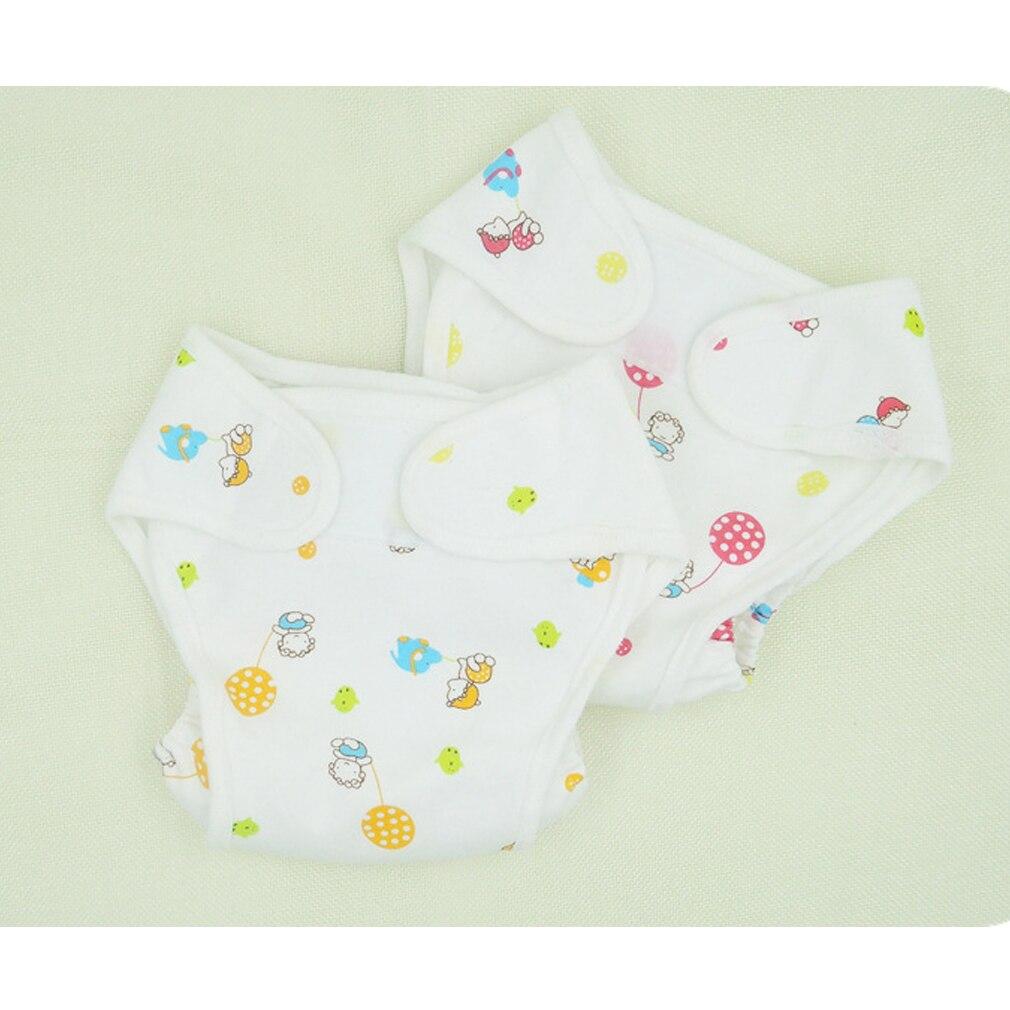 Хлопковые детские подгузники, подгузники, многоразовые подгузники, водонепроницаемые подгузники для новорожденных, Детские тренировочные...