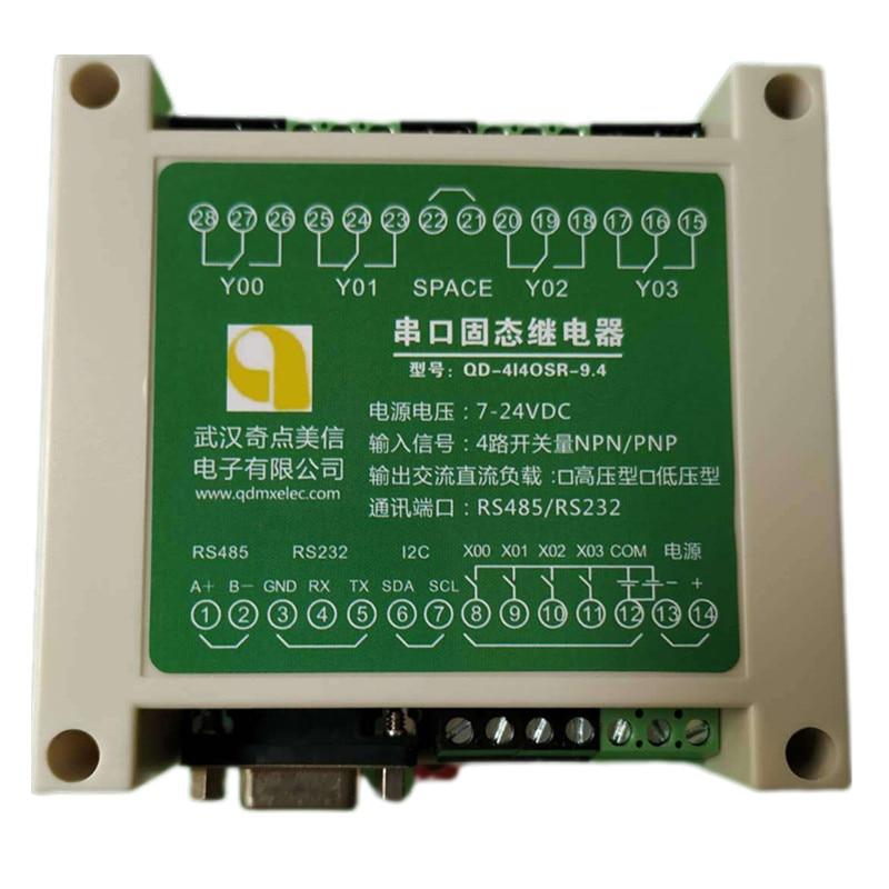 الحالة الصلبة تتابع لوحة تحكم رقاقة واحدة الحواسيب الصغيرة التحكم الصناعي المنفذ التسلسلي RS232 RS485 Modbus NPN PNP