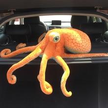 Lifelike Plush Octopus Stuffed Toy Acquatic Animals   Home Car Office Bar Decorative Creative  Doll Kids Boys  HT