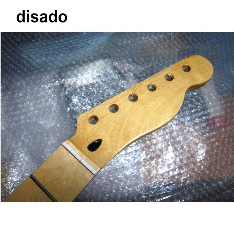 Disado 22 Bünde inlay dots maple E-gitarre Hals Gitarre Teile guitarra instrumentos Musicais zubehör