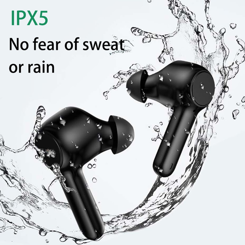 New Design ANC Active Noise Cancelling True Wireless Earphones Bluetooth 5.0 IPX5 ENC Transparency Mode Sports Earbuds with Mic enlarge