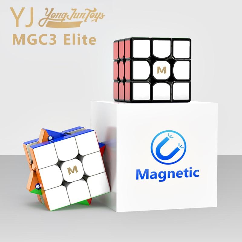 Yongjun MGC3 Elite 3x3 Magnetic Magic Cube Professional YJ MGC 3 Elite Puzzle Magnets Speed Cubes Stickerless 3x3x3 Cube