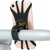 universal silicone bicycle gps phone holder bike handlebar mobile phone holder stand bracket for iphone samsung gps mount