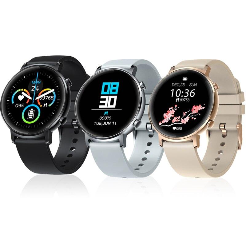 Zeblaze gtr homem de metal mulher relógio inteligente smartwatch android bluetooth medição da pressão arterial monitor freqüência cardíaca esporte wach