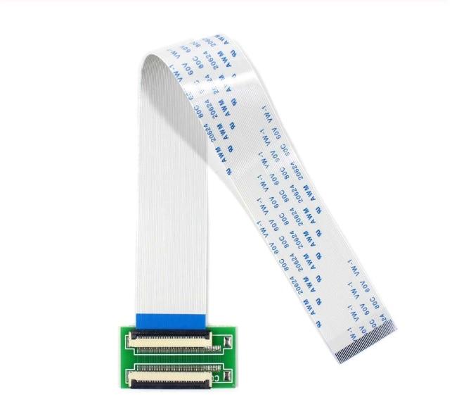 Nuevo FFC FPC 40 Pin a 40Pin 0,5mm cinta de paso Cable ZIF HDD 20CM + extender conector