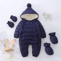 Комбинезон с капюшоном 0-2 лет, для девочек и мальчиков, хлопок 2021, цвета в ассортименте