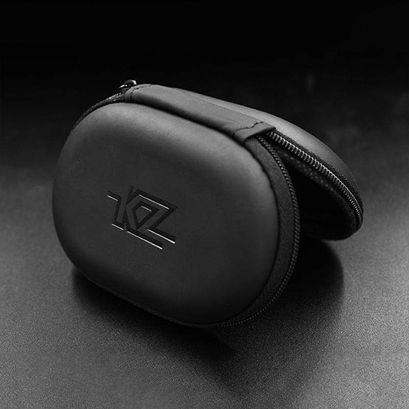 1pcs KZ Case Bag In Ear Earphone Box Headphones Portable Storage Portable Hold Storage Box Suitable For Original Earphones