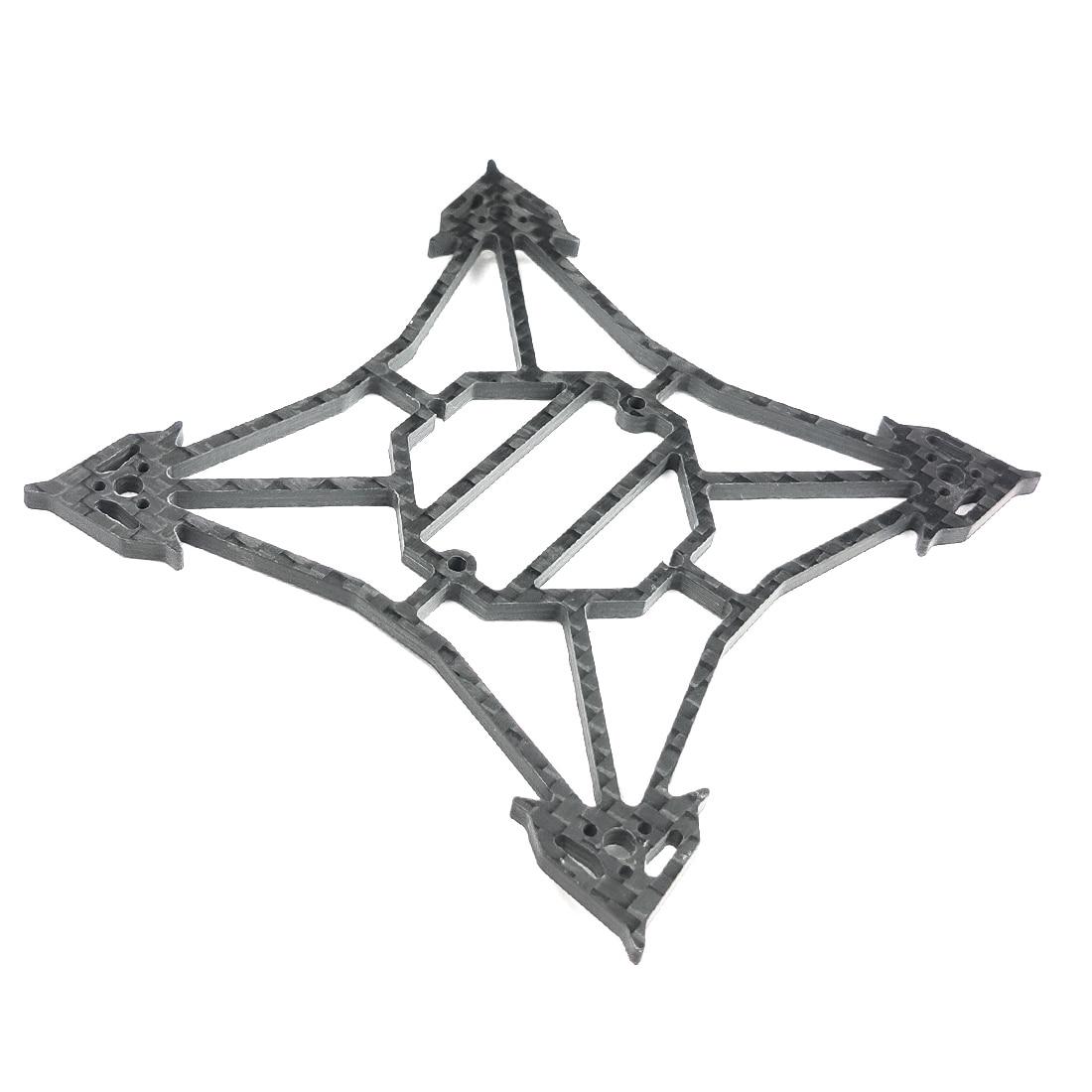 Happymodel Larva X Kit de marco de distancia entre ejes de 100mm 2-3S 2,5 pulgadas sin escobillas Dron de carreras con visión en primera persona 3mm de fibra de carbono de espaã a