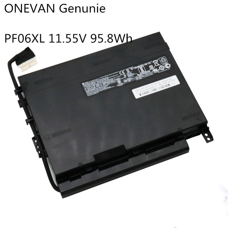 ONEVAN оригинальный PF06XL Аккумулятор для ноутбука HP Omen 17-w110ng 17-w102nl 17-w100 HSTNN-DB7M 852801-2C1 853294-850 853294-855