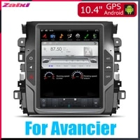 car accessories big screen android dvd multimedia player gps navigation radio stereo system 2din for honda avancier 20162019