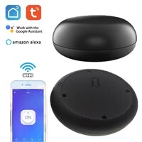Telecommande intelligente WiFi IR  telecommande sans fil Tuya Smart Life APP  commande vocale Alexa Google Home  climatiseur TV