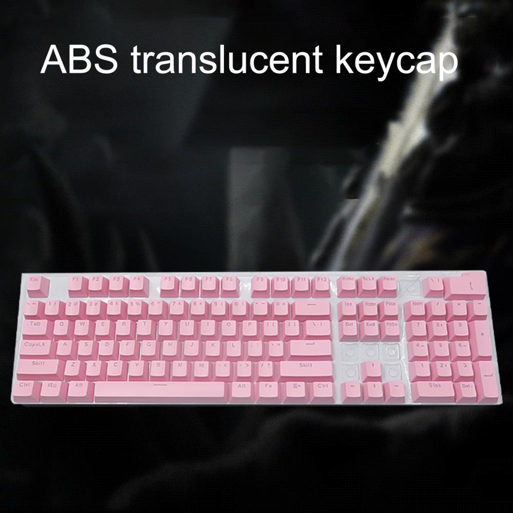 104Keys ABS Keycap Set Backlit Quality Type Keycaps For Mechanical Keyboard USB Wired Gaming