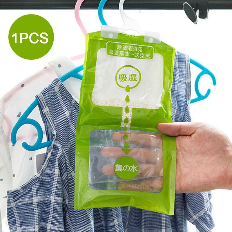 Guarda-roupa saco absorvente uso da família pendurado desumidificador agente de secagem sacos acessórios do quarto desumidificador de secagem do agregado familiar