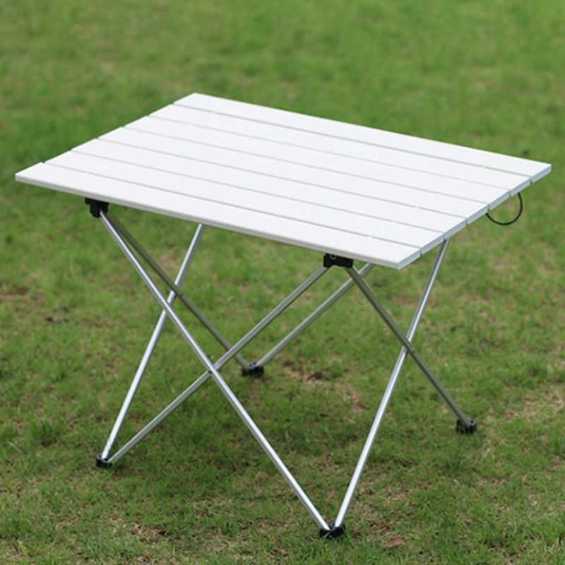 Multifunction Outdoor Folding Table Portable Camping Aluminium Alloy BBQ Picnic Table Waterproof Durable Folding Table Desk outdoor dining table outdoor table aluminium