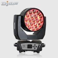 19X15W Led Zoom Moving Head Light Rgbw Wash Effcect For Dj Equipment