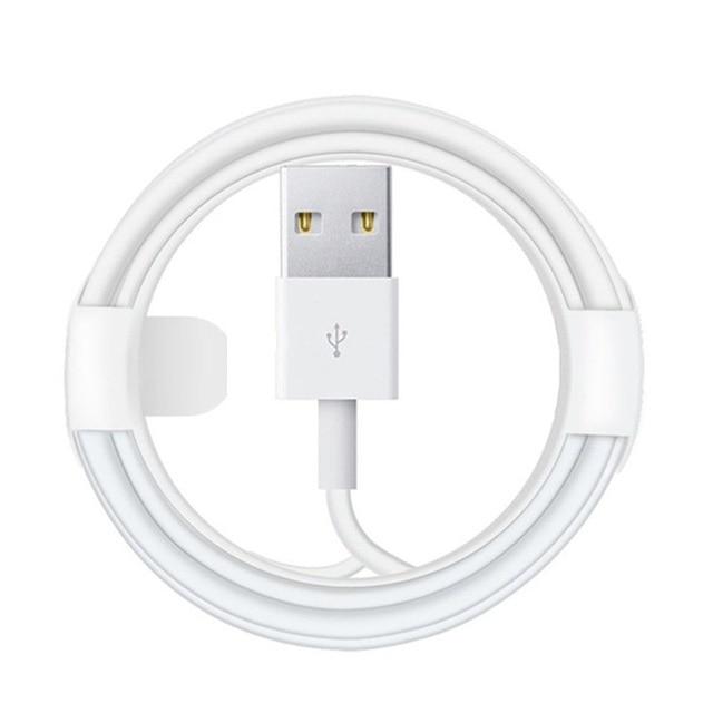 Cable de datos de carga USB de 0,25 m para iPhone 6S...