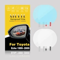xigyte for toyota echo 2000 2005 anti fog car sticker mirror window clear film rearview view mirror protective film waterproof