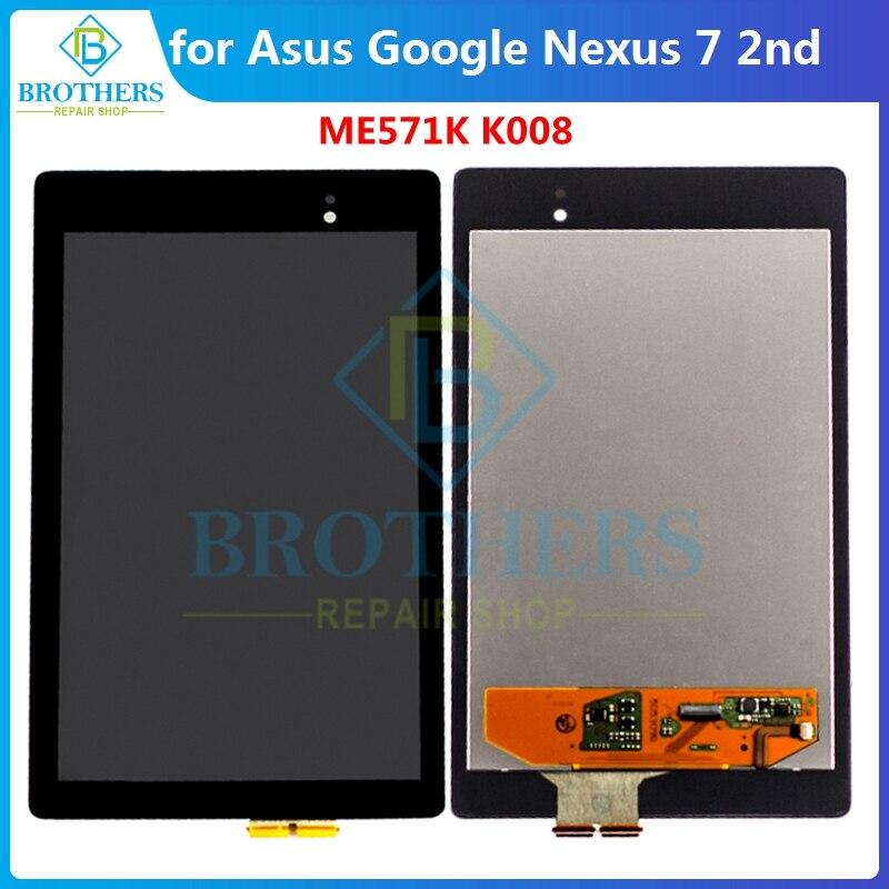 Pantalla LCD de 7,0 pulgadas para ASUS, Google Nexus 7, 2da, 2013...