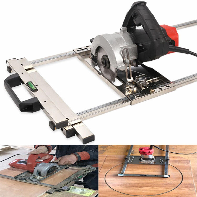 منشار دائري كهربائي متعدد الوظائف ، آلة يدوية ، تحديد المواقع ، أدوات لوح القطع ، جهاز توجيه النجارة