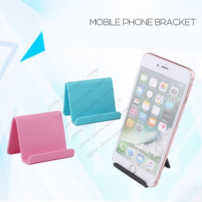 Candy Color Desk Lightweight Desktop Bracket Compatible For Android Smartphone For iPad Office Suppl