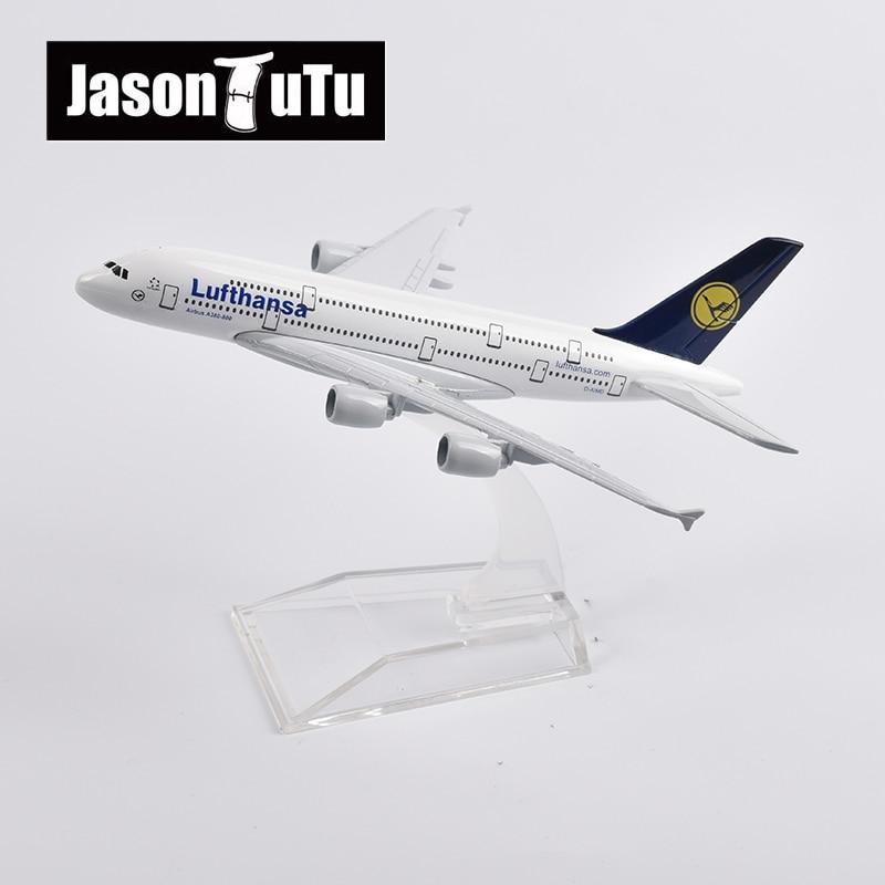 JASON TUTU-avión a escala 1/400 de Metal fundido a presión, modelo de...