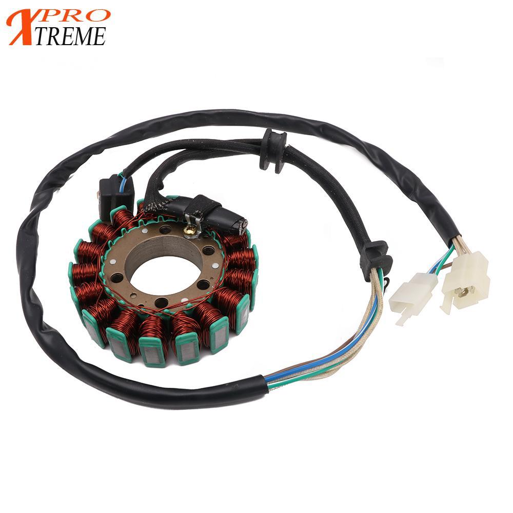 Motorcycle Magneto Generator Alternator Engine Stator Charging Coil For YAMAHA XV250 Virago250 XT600 XT600E XT 600 600E 90-02
