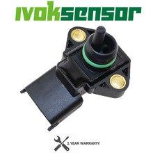 2,5 BAR KARTE Sensor, Ansaugluft Manifold Pressure Für Chrysler Grand Voyager III Mk II 2,5 TD 0281002205