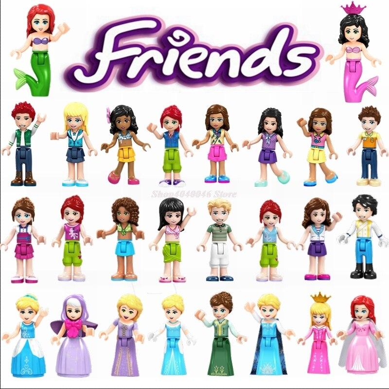 شخصيات شخصيات للبنات من Legoing ألعاب ساحرة بحورية البحر من STELLA DANCET للأطفال شخصيات شخصيات الأميرة Legoings صديق Fille