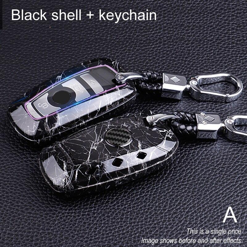 Ceyes Car-Styling Auto Carbon Fiber Key Cover Shell Case For Bmw New 1 3 4 5 6 7 Series F10 F20 F30 E60 E90 E46 G30 Accessories