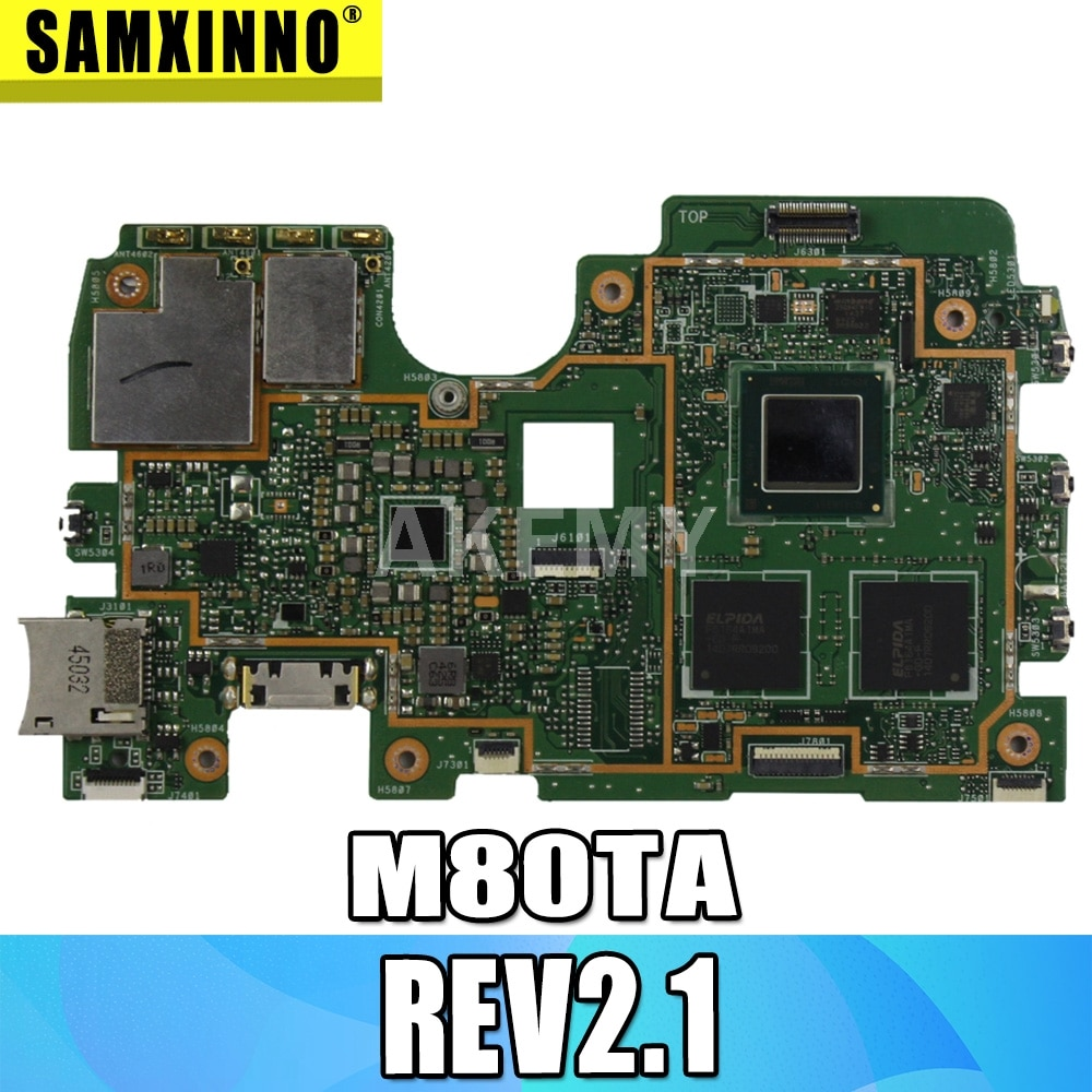 Placa base VIVOTAB NOTE 8 Logic 32G para tableta For Asus M80TA...