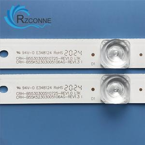 LED Backlight strip 5 lamp For Haier 55'' TV CRH-B55K52303005106AG-REV1.3 W  REV1.3 I 55UGX3500 LQ55AL88Y81 55U1 55H80U