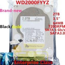 Nouveau disque dur pour WD marque noir/or 2 to 3.5