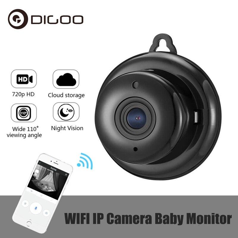 Digoo DG-MYQ ip 720p câmera sem fio, wi-fi armazenamento em nuvem visão noturna alarme de detecção de movimento de áudio bidirecional