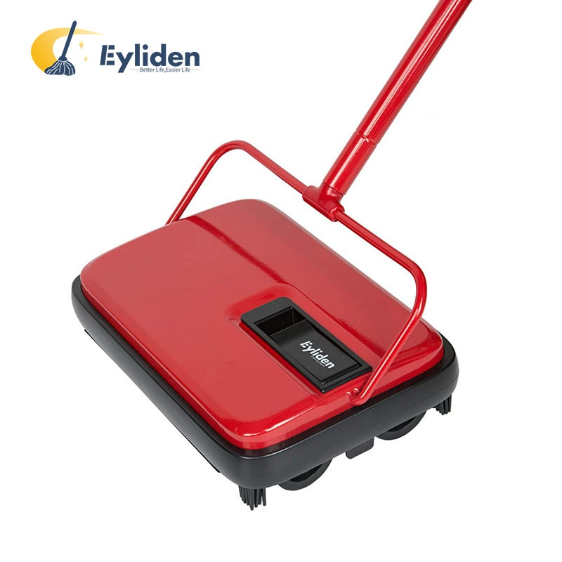 aliexpress.com - Eyliden Carpet Floor Sweeper Cleaner Hand Push Automatic Broom for Home Office Carpet Rugs Dust Scraps Paper Cleaning with Brush