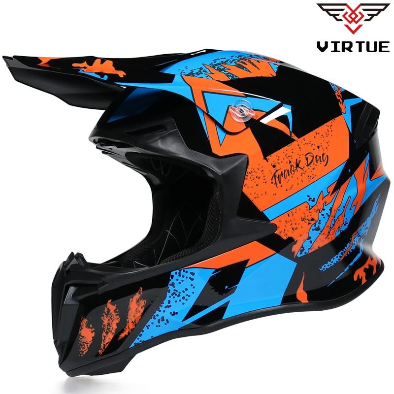 Мотоциклетный шлем AM DH, защитный шлем для езды на мотоцикле или велосипеде по бездорожью