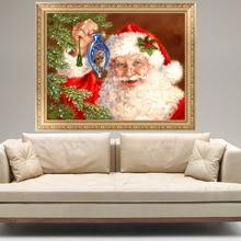 5D Diamond DIY Painting Father Christmas Embroidery Cross Stitch Home Wall Decor E65B