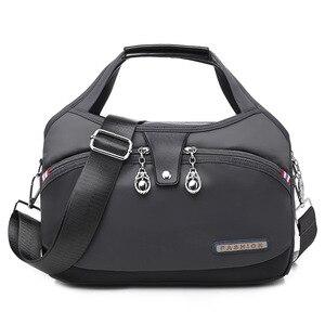 Nylon Large Women Messenger Bags Ladies Handbags Waterproof Female Shoulder Bags Designer High Quality Crossbody Bags For Women